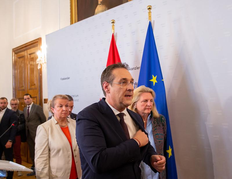Rücktritt #Strache