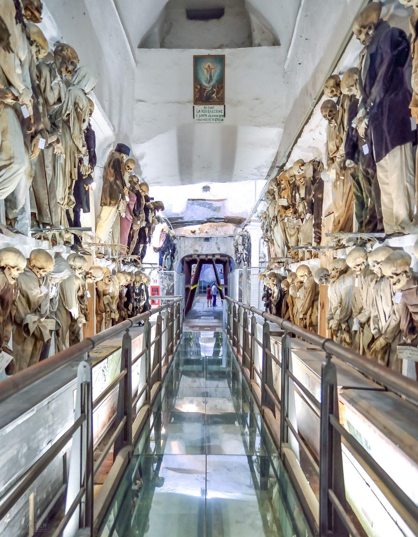 Le Catacombe dei Cappuccini – Kapuzinergruft in Palermo